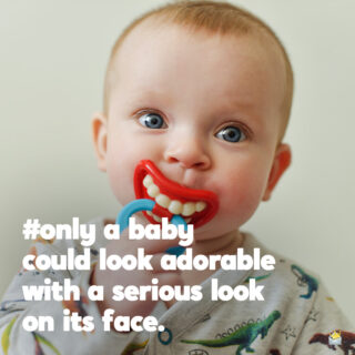 Baby caption for photo posts.
