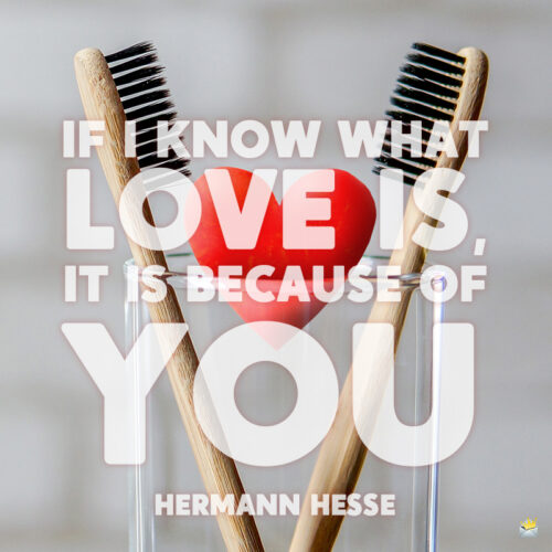 Valentine's day quote to note and share.