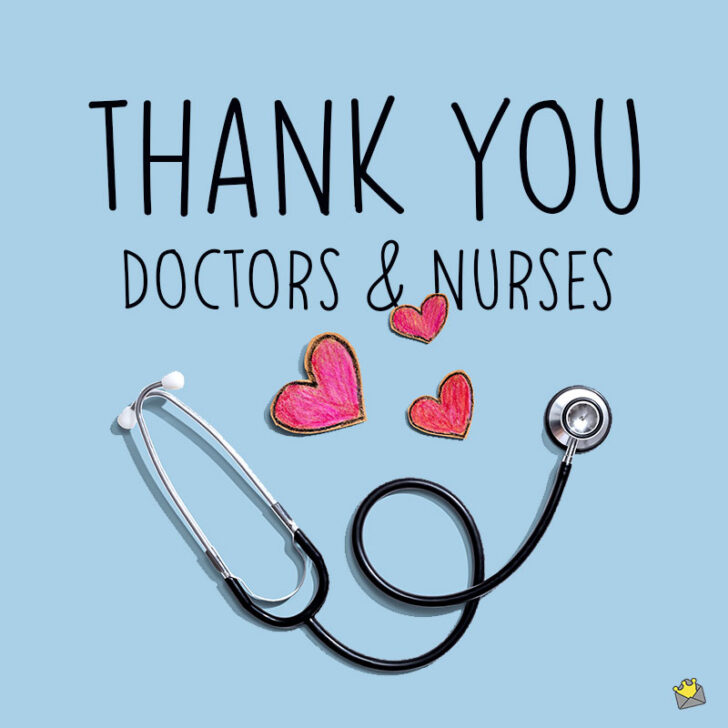 30 Thank You Messages for Doctors and Nurses