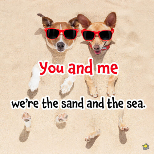 Beach and sand puns for instagram.