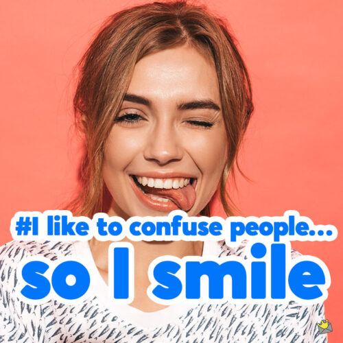 Smile Captions for your photo posts.