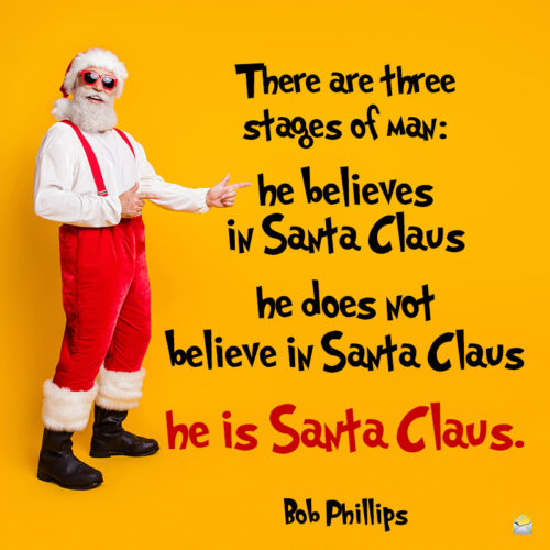 Funny Christmas quote.
