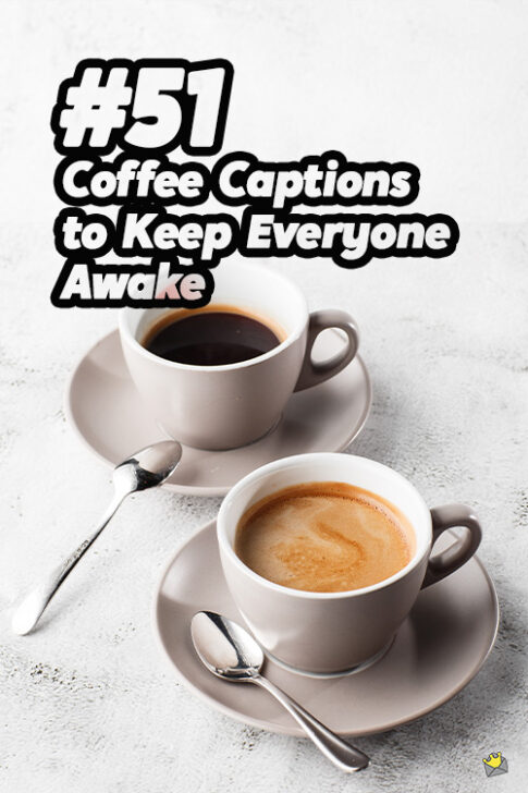 Coffee photo captions for Instagram - Pinterest.