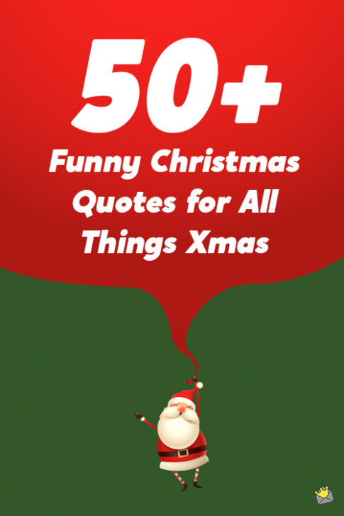 50+ Funny Christmas quotes.